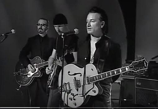 U2 & Dave Stewart Gretsch Country Gent 1959 Guitar