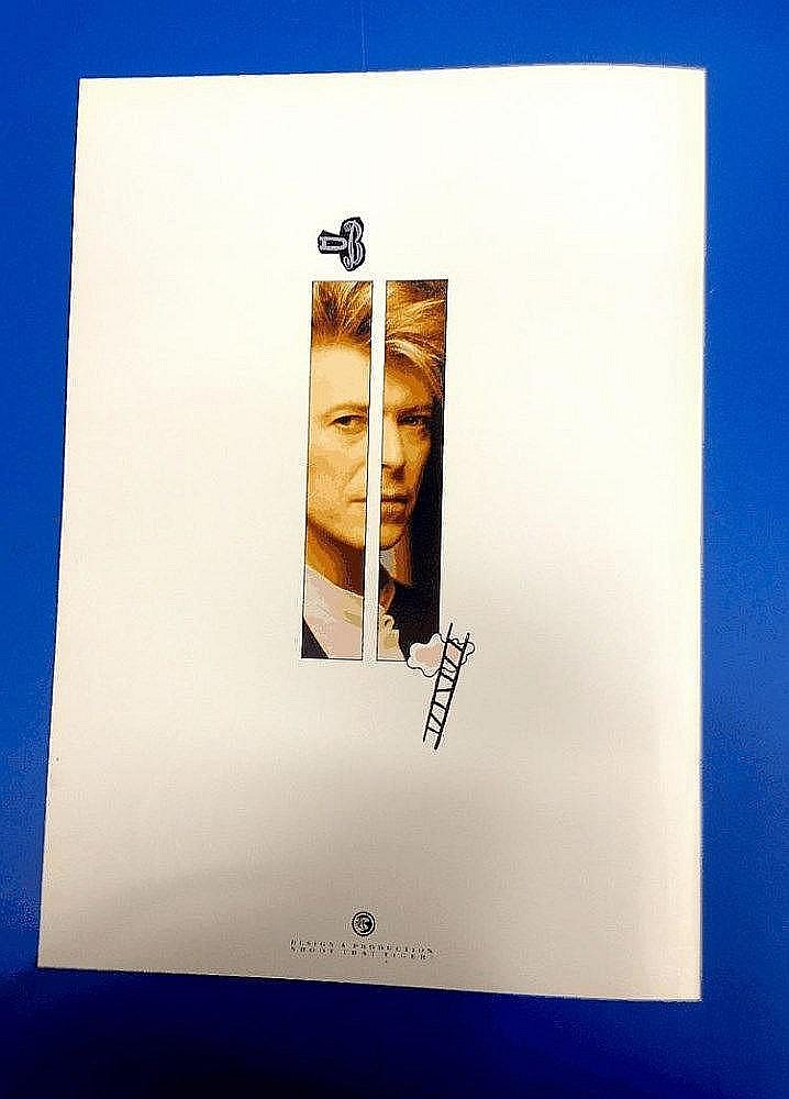 DAVID BOWIE SUPER RARE EUROPE UNDER PRESSURE PRESS TOUR BOOKLET