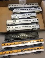 EIGHT (8) PIECES OF MIXED LOT OF PASSENGER CARS