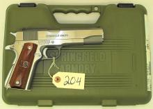 SPRINGFIELD ARMORY 1911-A1 45 AUTO PISTOL WITH HAMMER