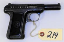 SAVAGE 1917 32 CAL PISTOL WITH HAMMER