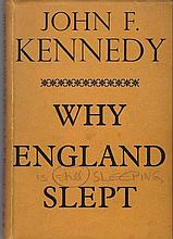 Kennedy, John F Autographed book - a gift to Queen Elizabeth II - signed.