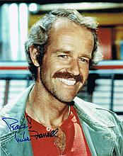 Farrell, Mike: Autographed photograph, signed