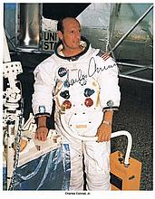 Apollo 12: Autographed photographs x3, signed
