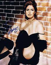 Delaney, Dana: Autographed photograph, signed