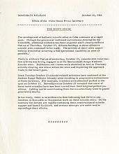Cuban Misslie Crisis: Original White House Press Release