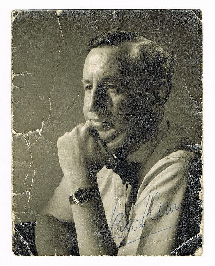 Ian Fleming signed photo for sale