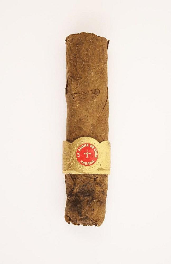 Sir Winston Churchill half smoked cigar