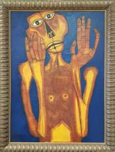Oswaldo GUAYASAMIN (ATTRIB.) PAINTING