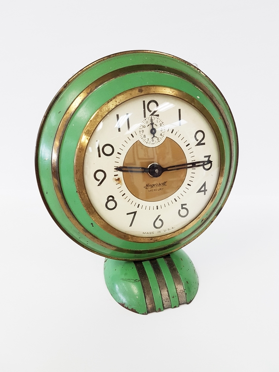 Vintage art deco alarm clock Art deco alarm clocks