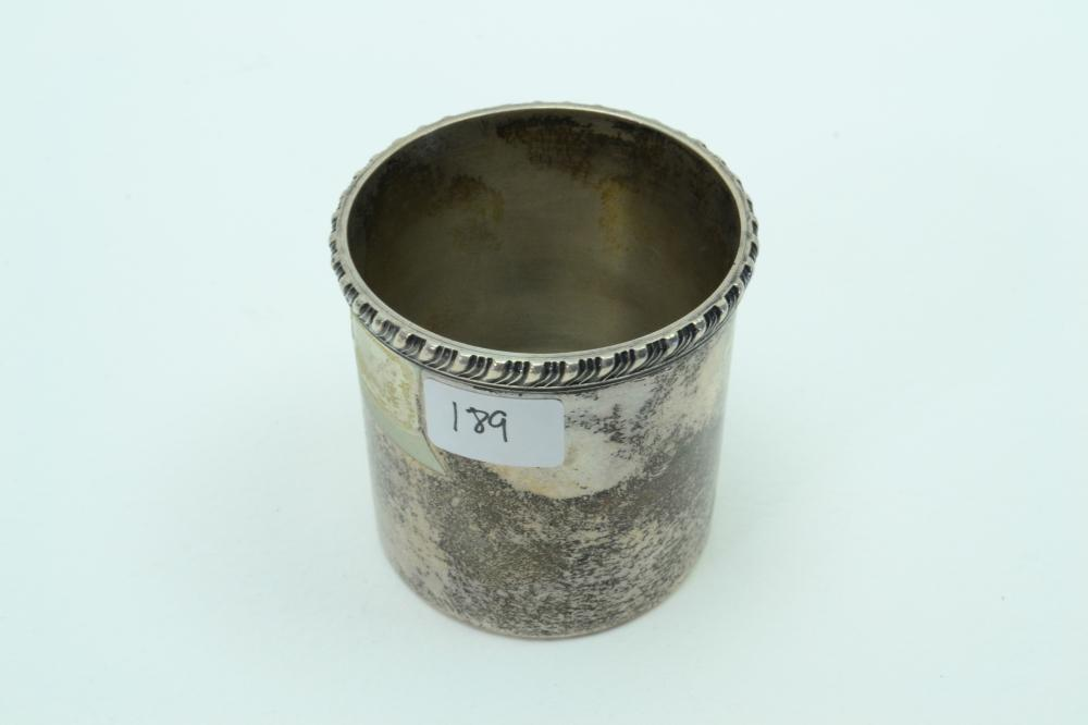 Vintage Cartier Sterling Silver Liquor Cup Jigger 87.75G