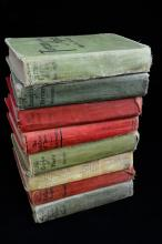 Antique Book Lot By Edgar Rice Burroughs