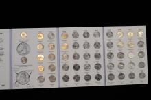 1999 Through 2008 The Fifty State Commemorative Quarter Series Completely Full Book