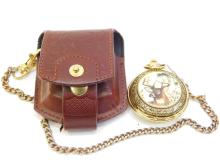 The Franklin Mint National Fish And Wildlife Foundation Pocket Watch