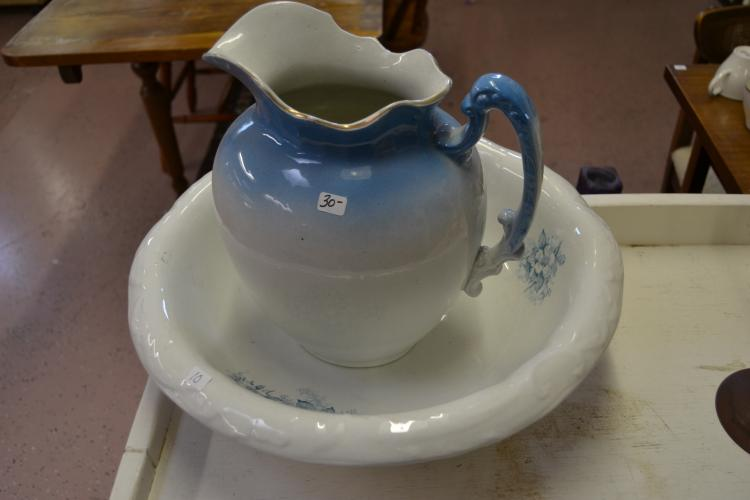 Harvard Ceramic Washbasin And Water Pitcher