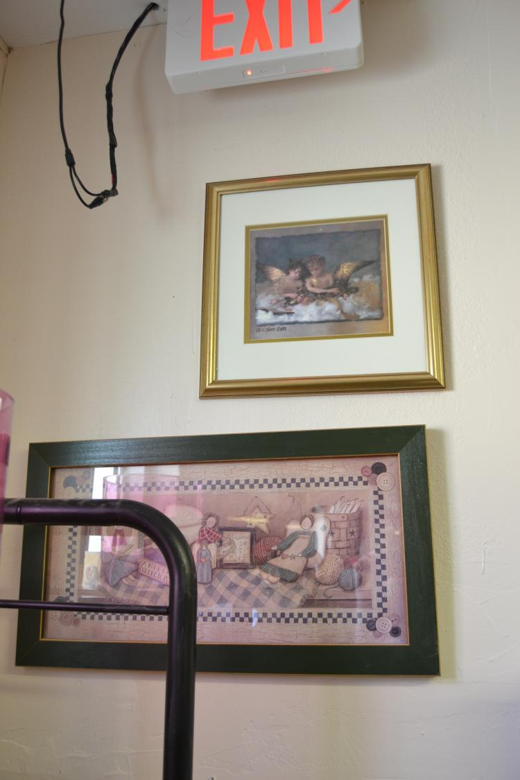 2 Home Decorator Framed Prints