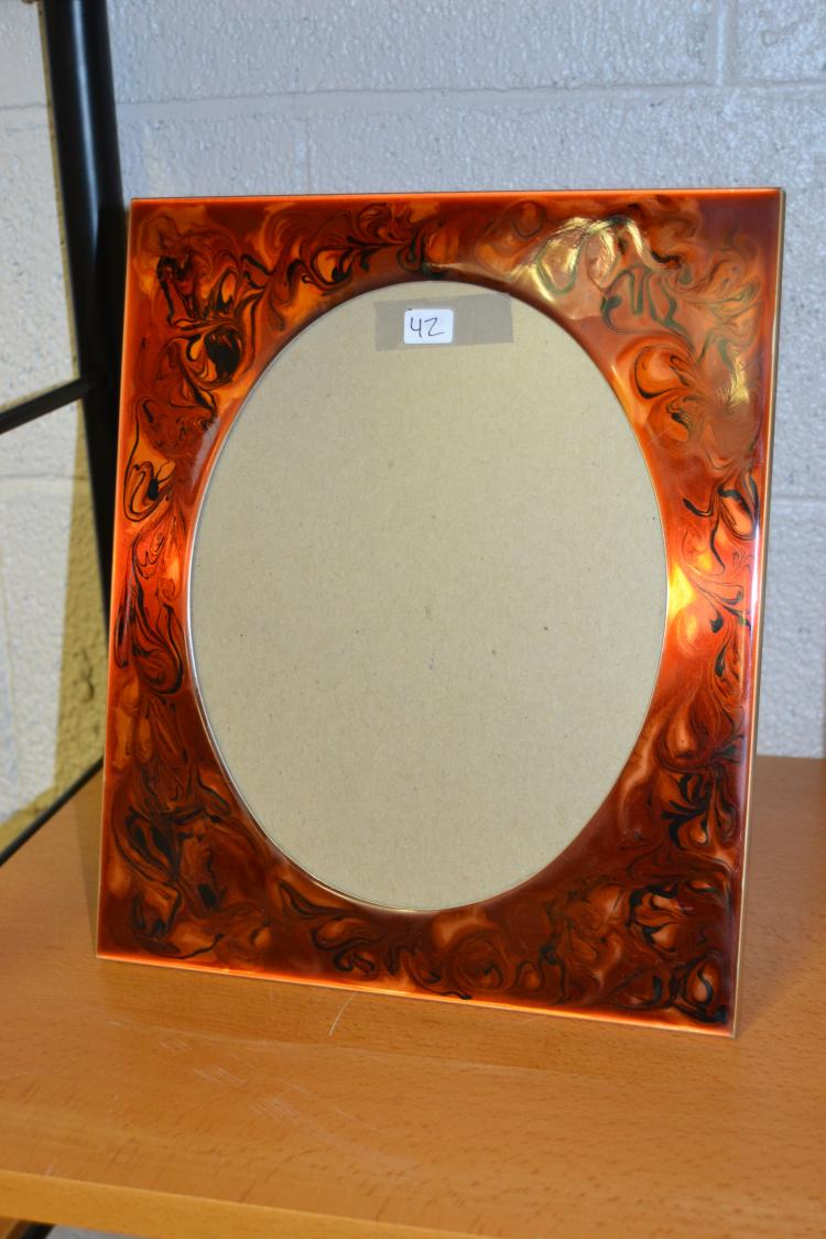 Enamel Swirl Decorative Photo Frame