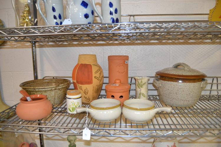 Decorative Home Decor Pottery And Ceramic Lot