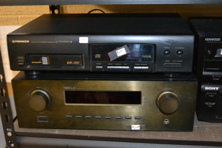 Klh Stereo Amplifier And Pioneer Multi-Disc Home Theater System