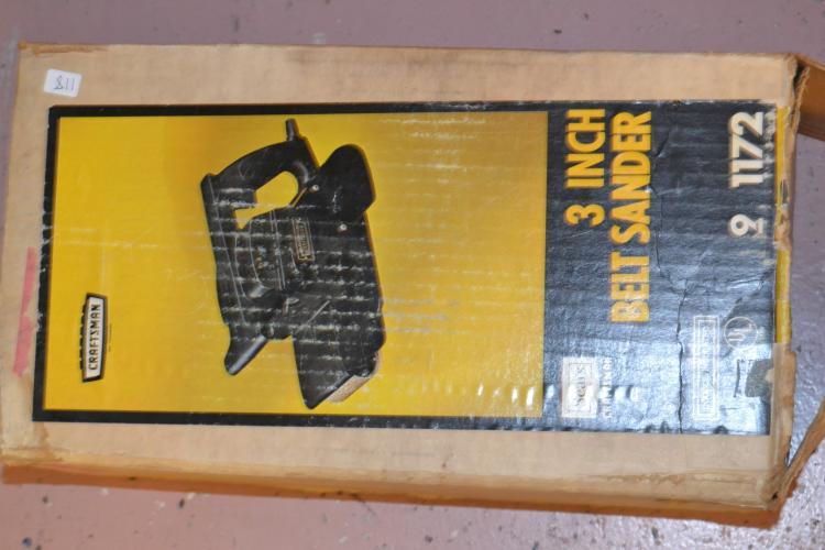 Craftsman 3 Inch Belt Sander