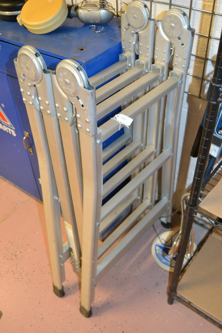 Gp And Hi Multi Position Modular Folding Ladder Tec
