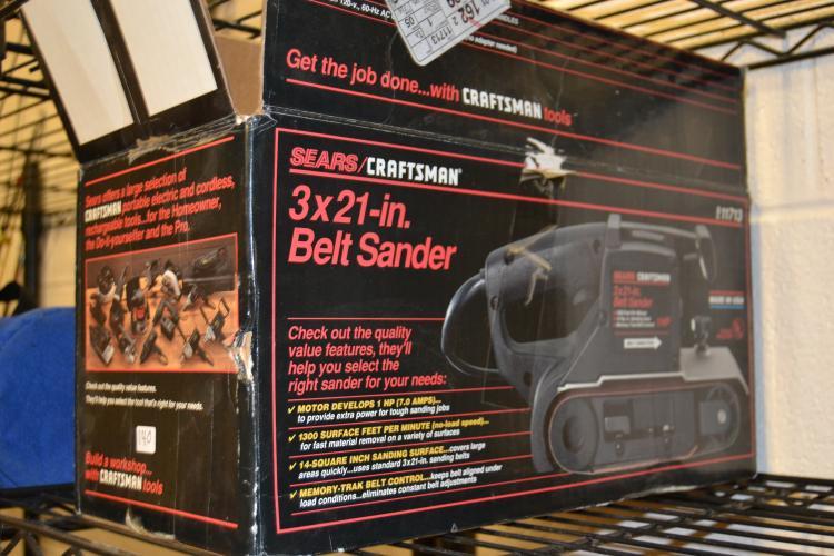 Craftsman 3 X 21 Inch Belt Sander