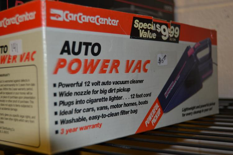 12 Volt Automotive Power Vac