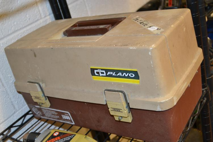 Vintage Plano 1530 Tackle Box With Tackle