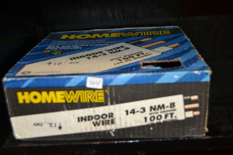 Homewire Indoor Wire 14-3 Nm - B With Ground 100 Foot