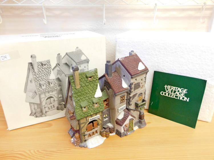Dickens Village Oliver Twist Fagins Hideaway Hand-Painted Porcelain Figurine