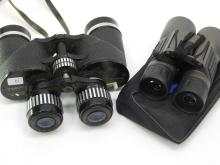 Lot 14: Lot Of To Tasco Binoculars 17 X 14 X 35 Extra
