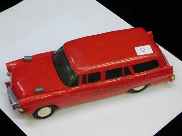 Vintage Dealer Promo Red Cross Ambulance 125Th