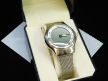 Lot 34: Fossil Men's Bic Tic Digital Watch With Mesh Band