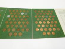 Lot 38: Lincoln Head Cent Collector's Album 1909 - 1958