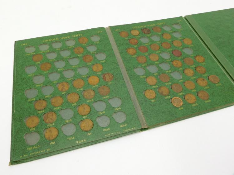 Lincoln Head Cent Collector's Album 1909 - 1958