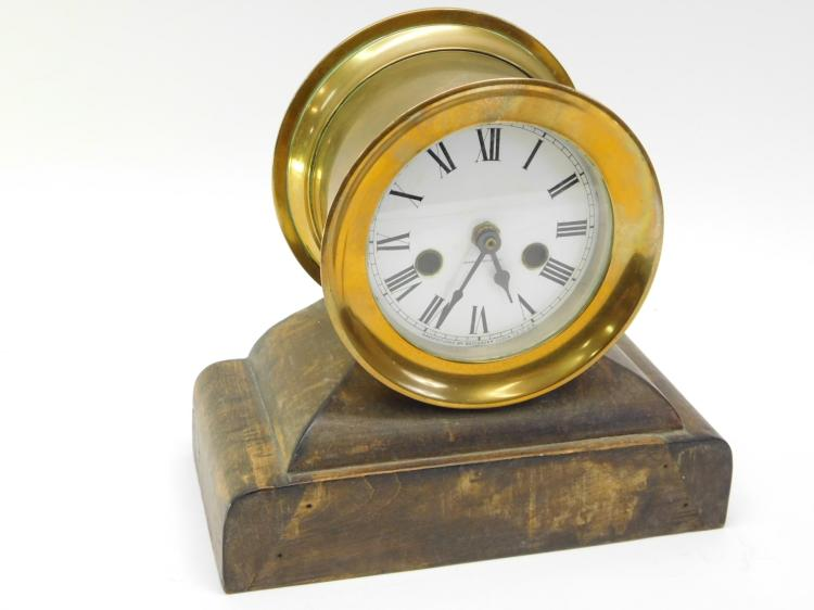 Antique Waterbury Clock Company Ships Clock On