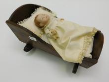 Lot 46: Vintage Grace S Putnam 4 Inch Bye Lo Baby 6-75