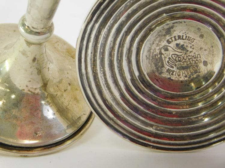 Lot 51: Lot Of 2 Vintage Weighted Sterling And 800 Silver