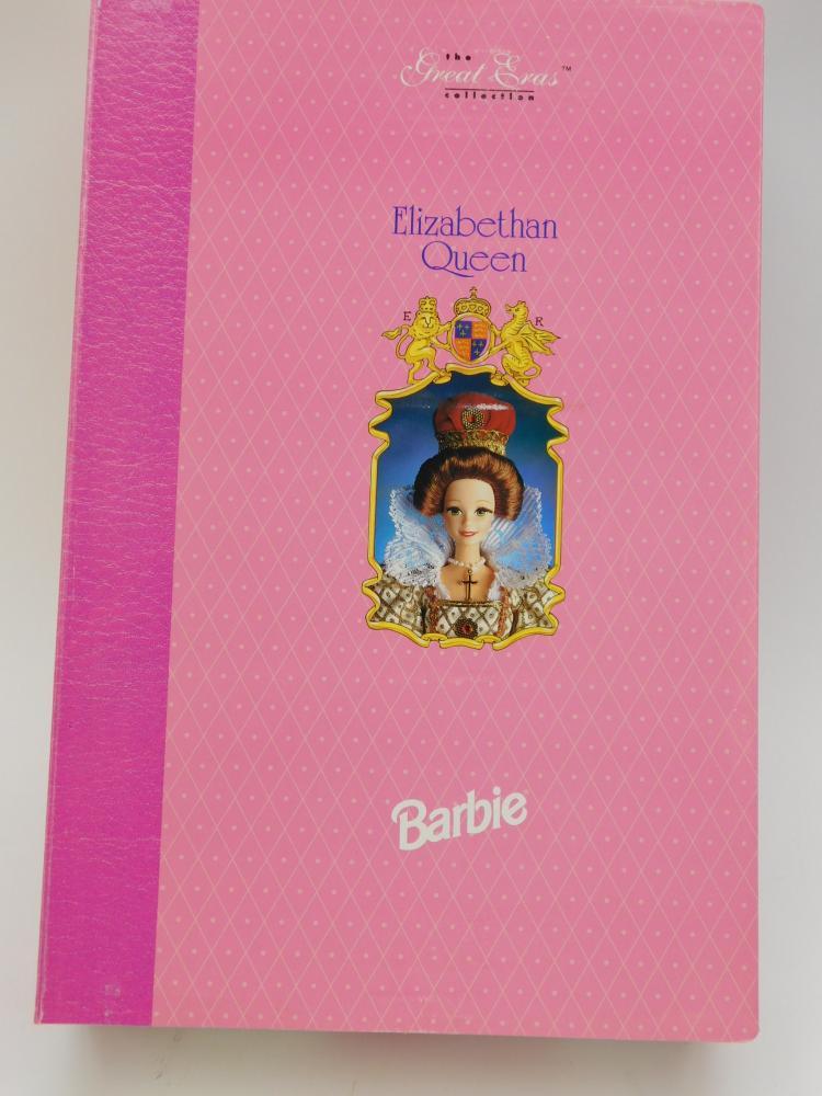 Lot 52: 1994 Great Eras Collection Elizabeth Queen Barbie