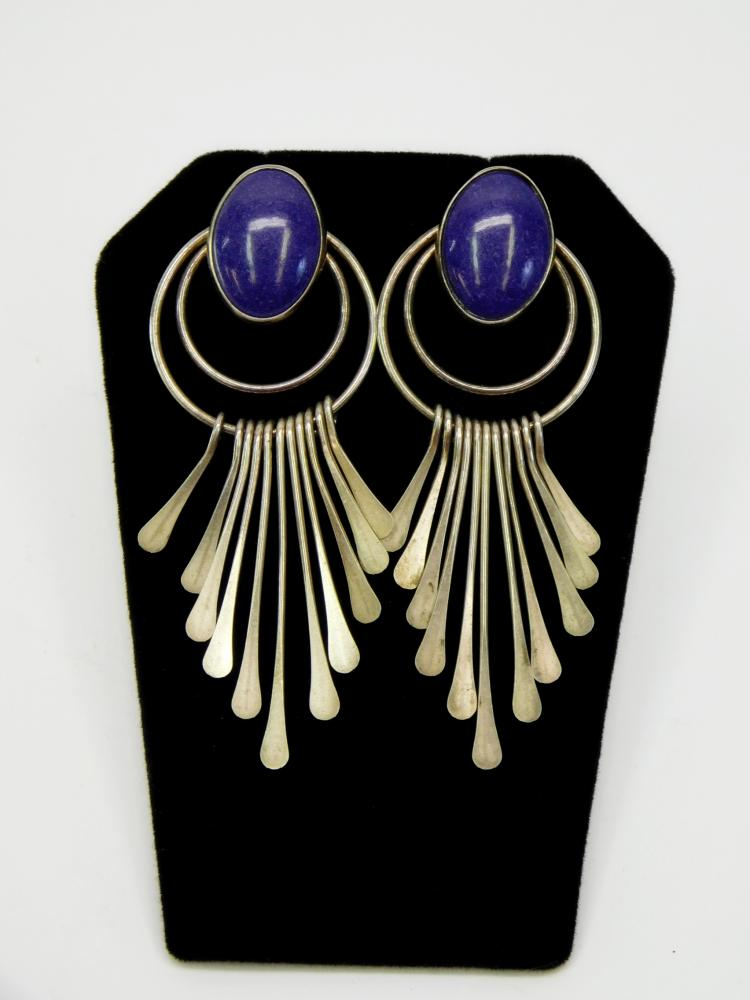 Southwestern Navajo Sterling Purple Sugilite