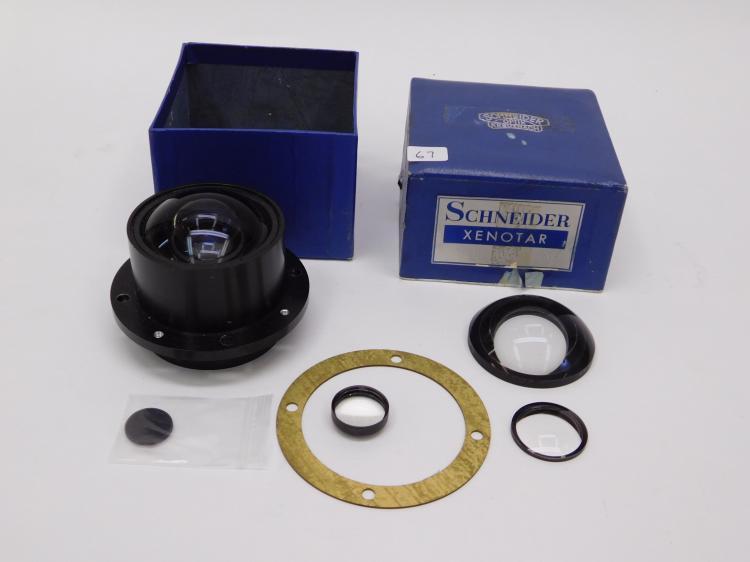 Vintage Schneider Optik Kreuznach Xenotar Lense
