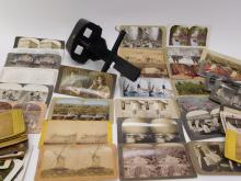 Lot 70: Antique Stereo Viewer And Views