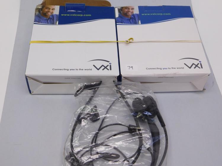 Lot Of 2 Vxi Tria V Headsets