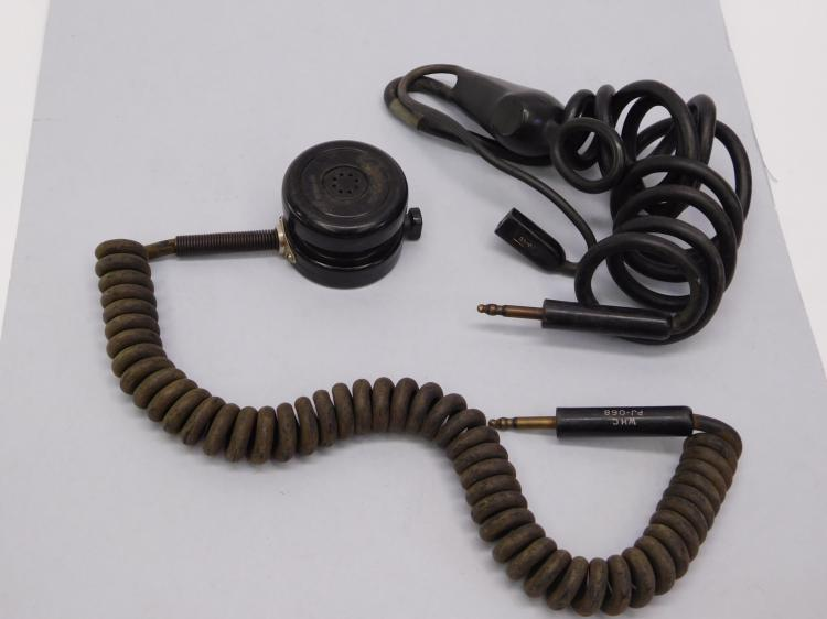 Lot 89: Vietnam Era Microphone From Navy P-2 Neptune
