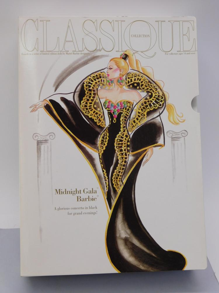 Lot 91: 1995 Midnight Gala Barbie Classicque Collection