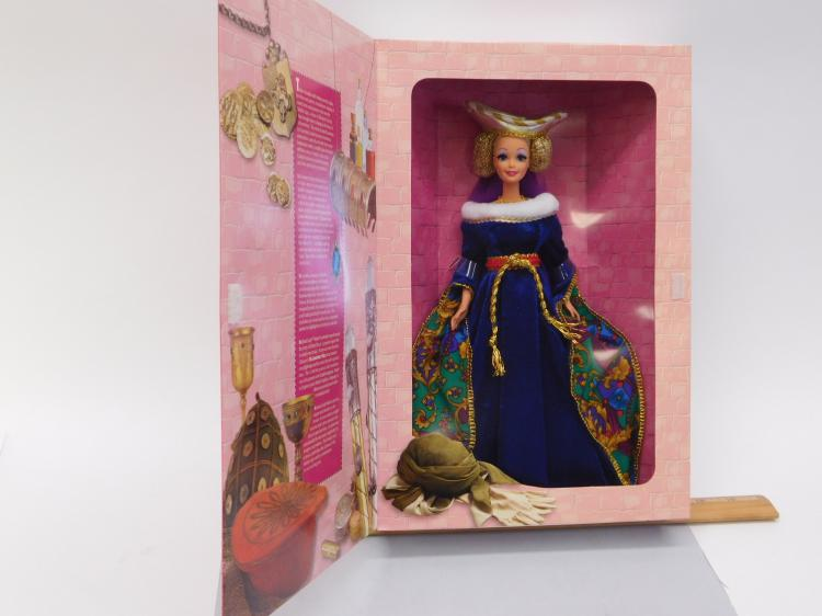 1994 Great Eras Medieval Lady Barbie In Original