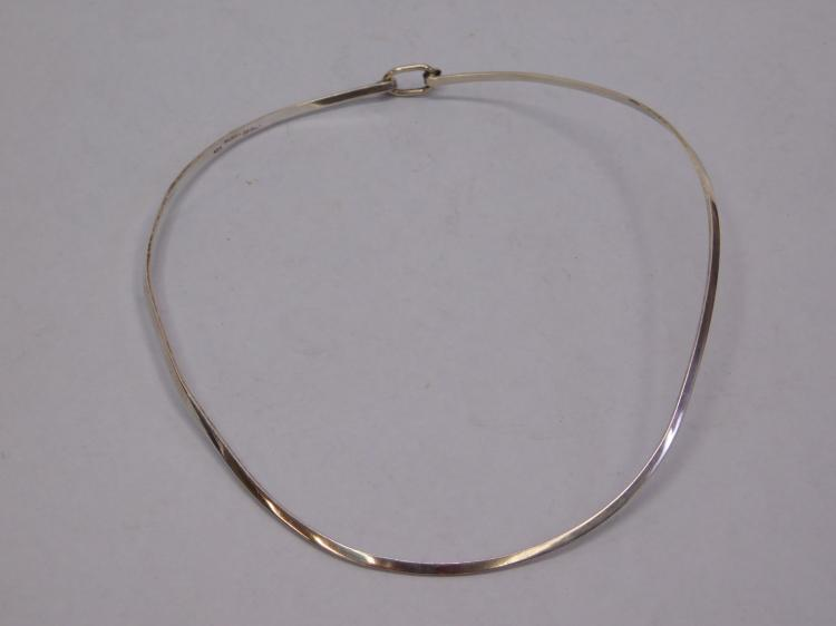 Vintage Taxco Mexico Sterling Silver Hard Wire