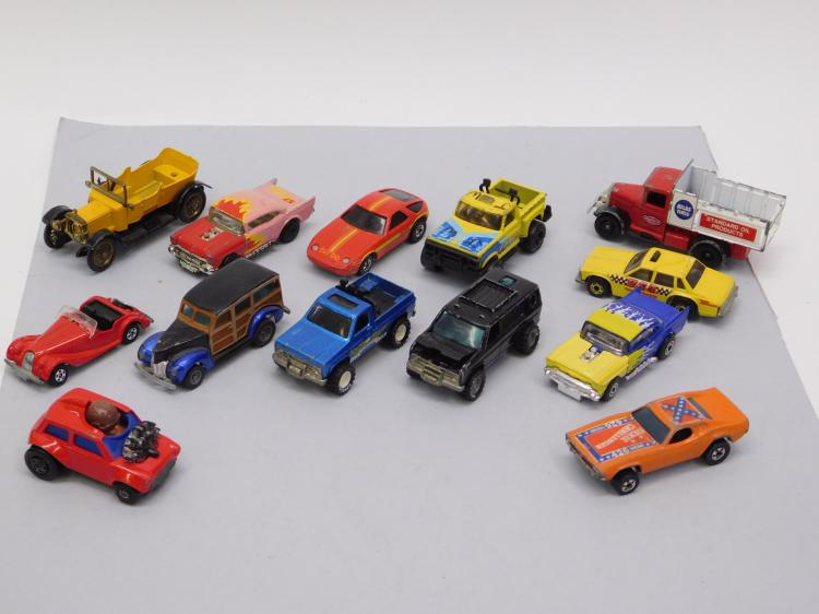 Lot Of 15 Vintage Hot Wheels And Matchbox 1/64