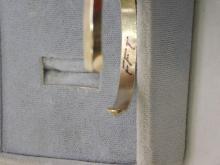 Lot 114: Vintage Sterling Silver Navajo Sand Cast Bear Bat