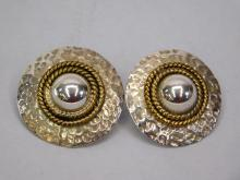Lot 126: Vintage Taxco Mexico Sterling Silver Hammered